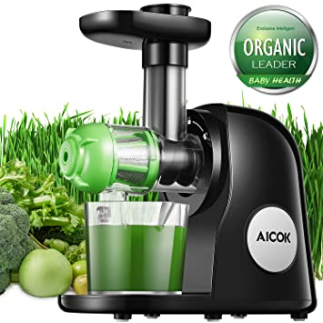 Review Aicok Juicer Black and