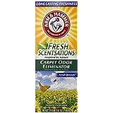 Arm & Hammer Fresh Scentsations Carpet Odor Eliminator, Fresh Breeze, 30 Oz (Pack of 6)