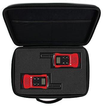 DURAGADGET Maletín Customizable para Walkie Talkie Motorola T40: Amazon.es: Electrónica