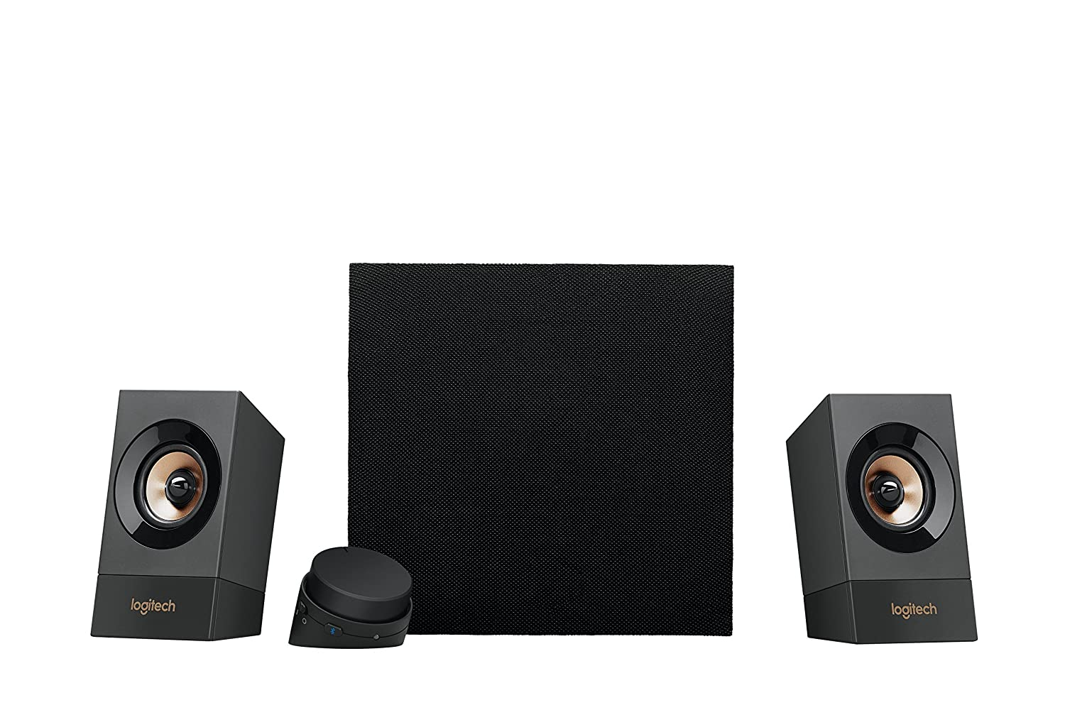 Logitech Z537 Powerful Sound with Bluetooth 2.1 Speaker System for PC, Tablet, or Smart Phone 980-001271
