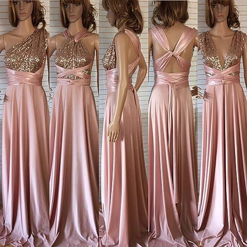 a45e90ae631 Amazon.com  Convertible long dress  Handmade