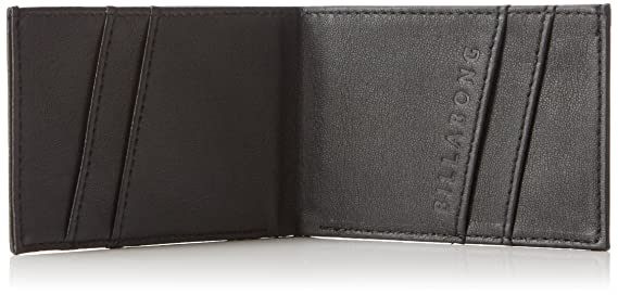 GSM Europe - Billabong Z5WM01 BIF6 19 – Cartera para Hombre, diseño Retro, Talla única, Color Negro
