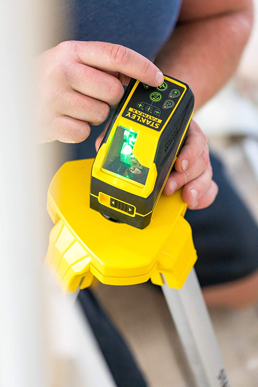 STANLEY FATMAX FMHT77586-1 Livella Laser a Croce FCL-G con Batterie Alcaline Raggio Verde