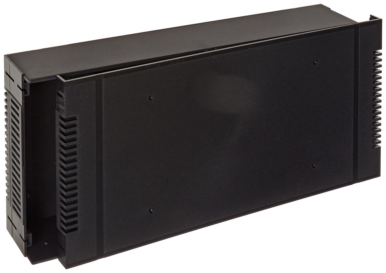 16-11//16 Length x 3-1//2 Height x 8 Depth Black Texture Finish 16-11//16 Length x 3-1//2 Height x 8 Depth BUD Industries PRM-14462 ABS Plastic Rackmount Box