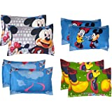 """RRC Cotton Printed Pillow Covers Set of 8-18"""" x 27"""", Multicolor"""
