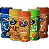 4 Pack of Kernel Seasons Popcorn Seasoning - Butter, Caramel, Nacho Cheddar, & Cheesy Jalapeno