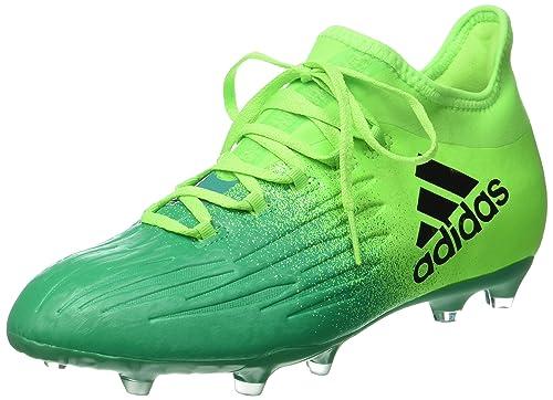 info for 30473 4a928 adidas X 16.1 FG J - Botas de fútbolpara niños, Verde -  (Versol Negbas VERBAS), -3  Amazon.es  Deportes y aire libre