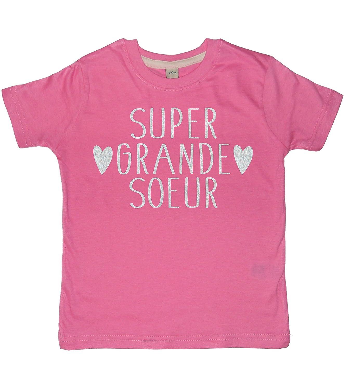 301146dcbcb Super Grande Soeur Tee Shirt Rose