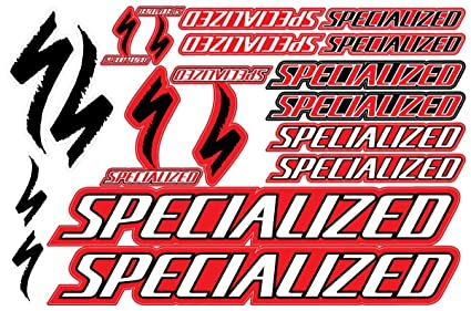 amazon com specialized decals stickers bicycle frame replacement