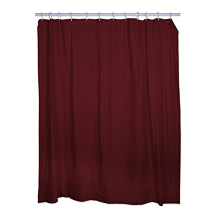 Amazon J M Home Fashions Burgundy Shower Curtain Liners 70x72