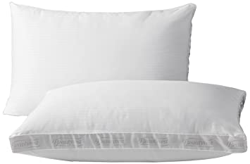 beautyrest extra firm pillow for back u0026 side sleeper two pack standard