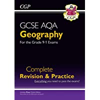 New GCSE 9-1 Geography AQA Complete Revision & Practice (w/ Online Ed) - New for 2020 exams & beyond (CGP GCSE Geography 9-1 Revision)
