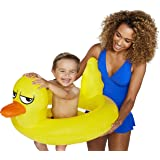 BigMouth Inc Lil' Water Float - Pool Float for Infants and Kids Ages 1-3, Perfect for Beginner Swimmers, Easy to Inflate and Durable (Lucky Duck)