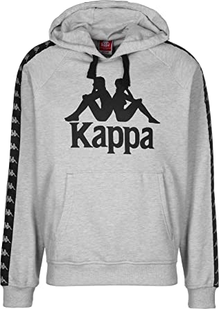 a2fdc314d1c3 Kappa Men s Hoodie Grey Grey - Grey - Small  Amazon.co.uk  Clothing