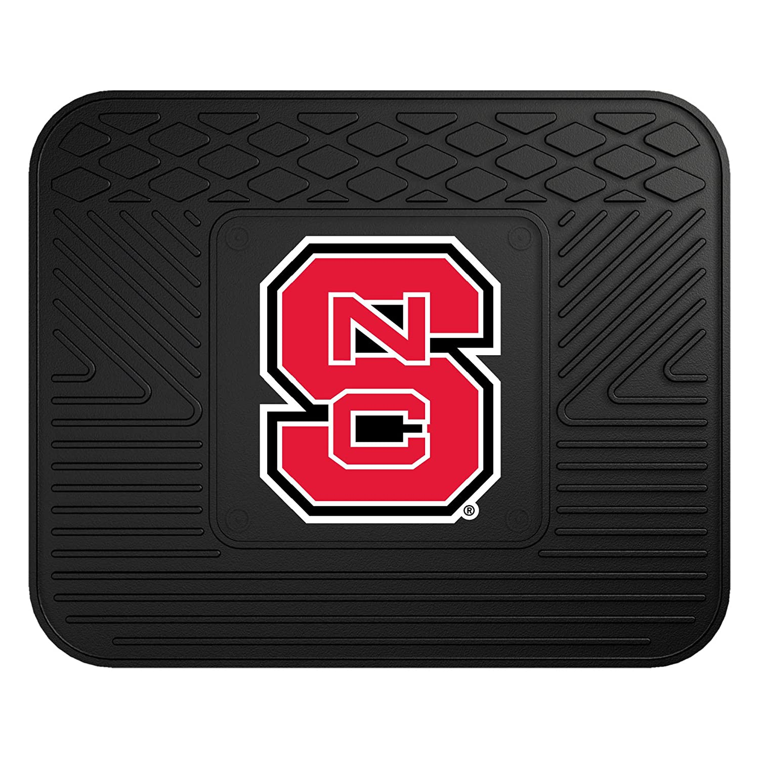 Fanmats 10988 North Carolina State Wolfpack Front Row Vinyl Heavy Duty Car Mat 2 Piece