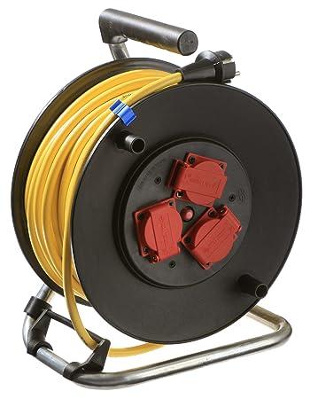 Berühmt as - Schwabe Profi Kabeltrommel Outdoor, schwarz, mit 40m Kabel UI66