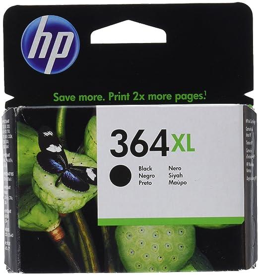 HP Tintenpatrone, 364xl cn684ee schwarz, 18 ml, d5460/ b8550/ c6380/ c5380
