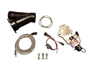 BadlanzHPE Electric Exhaust Cutout 2.5 INCH C 5 YEAR WARRANTY!!