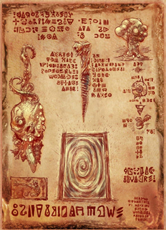 Amazon com: Evil Dead 2: Necronomicon Ex-Mortis Poster Print