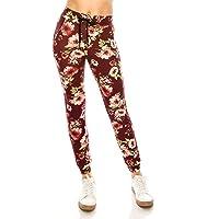 ALWAYS Women Drawstrings Jogger Sweatpants - Skinny Fit Premium Soft Stretch Pockets Pants