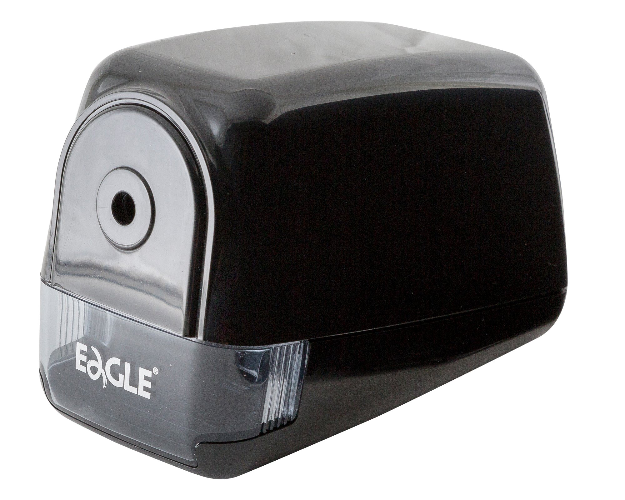 Eagle Electric Pencil Sharpener - Heavy Duty Helical Blade- Medium Use Motor with Overheat Protection - Perfect for Regular Pencils - Best for School, Home, and Office Use