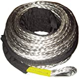 Synthetic Winch Rope Kit 95 X3 8 Quot W Snap Hook And Rubber