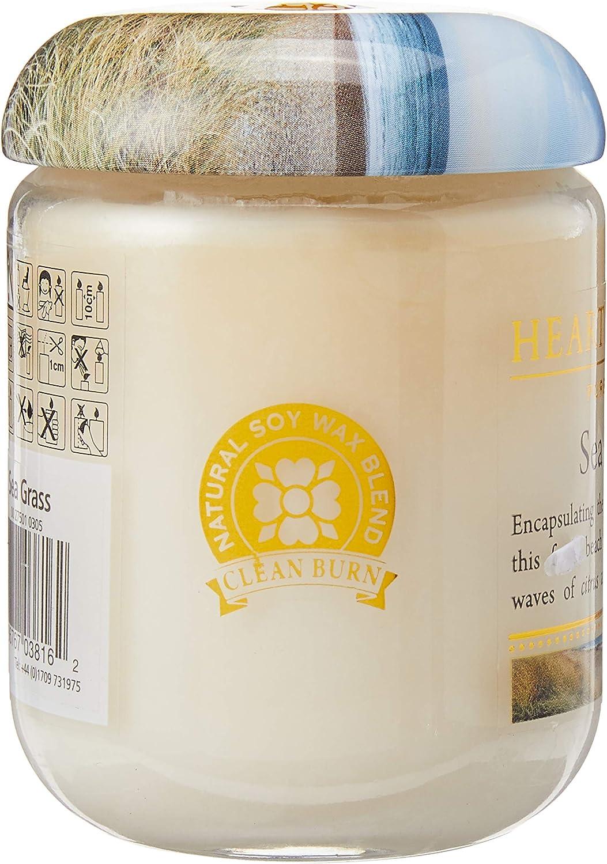 Candela profumata in Barattolo di Vetro Heart /& Home Diverse fragranze Disponibili Erba di Mare