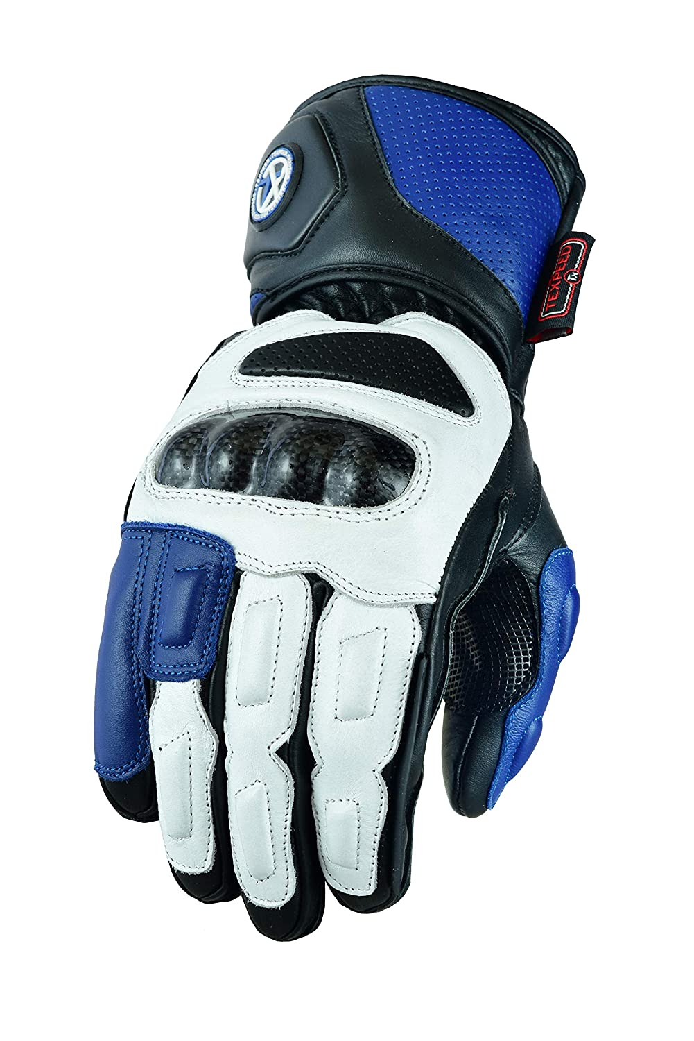 All Sizes 8 Colours Mens Texpeed Black Leather Motorcycle//Motorbike Gloves Collection