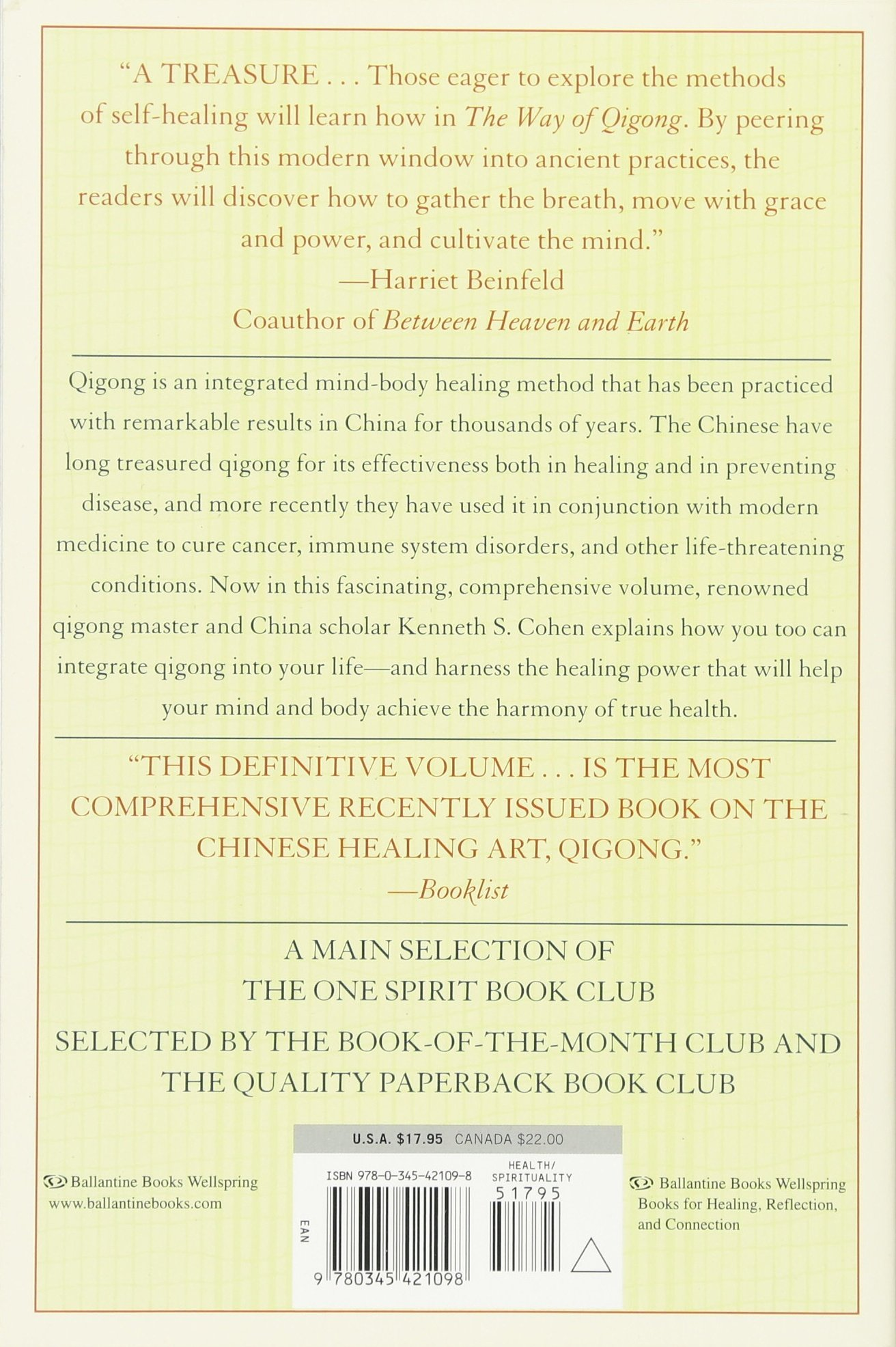 The Way Of Qigong: The Art And Science Of Chinese Energy Healing: Ken  Cohen: 8601400218624: Amazon: Books