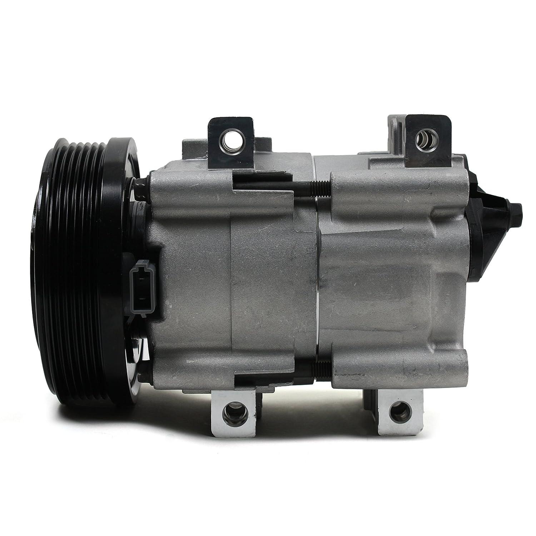 Nueva acc58146 AC a/c compresor con 6 ranuras de embrague para Ford Lincoln Mercury 2.0L 3.0L 4.6L 1995 - 04: Amazon.es: Coche y moto