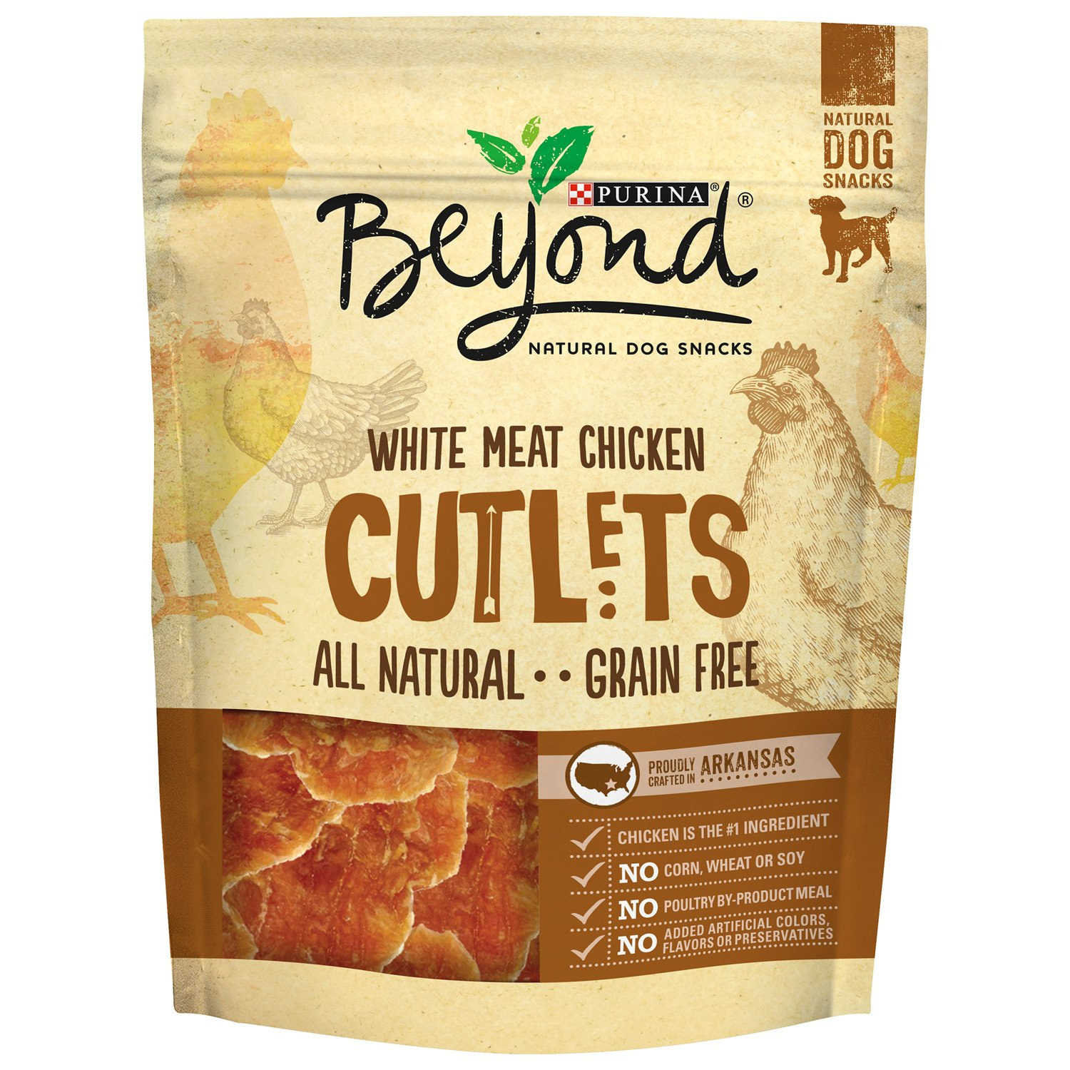 Amazon Purina Beyond Natural Dog Snack White Meat Chicken