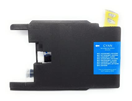 Tóner cyan compatible Brother LC1220 LC1240 lc1280 para impresora ...