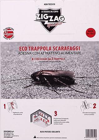 Viscio Trading Ecotrappola Schaben Garten Und Aussen Amazon De
