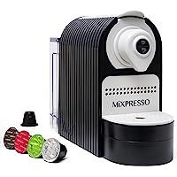 Mixpresso Espresso Machine for Nespresso Compatible Capsule, Programmable Buttons for Espresso and Lungo, Premium…