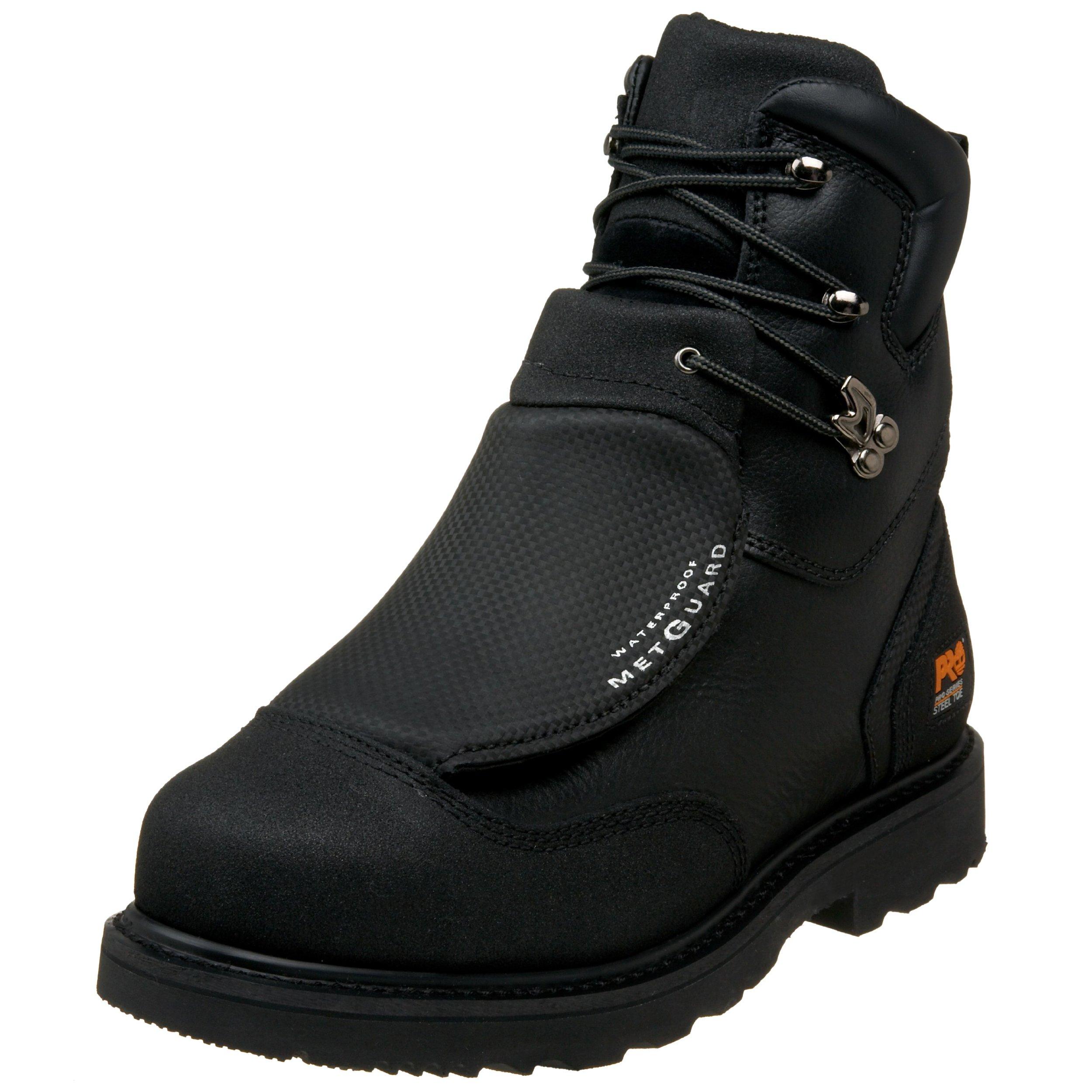 Timberland PRO Men's 53530 8'' Metguard Steel-Toe Boot,Black,15 W