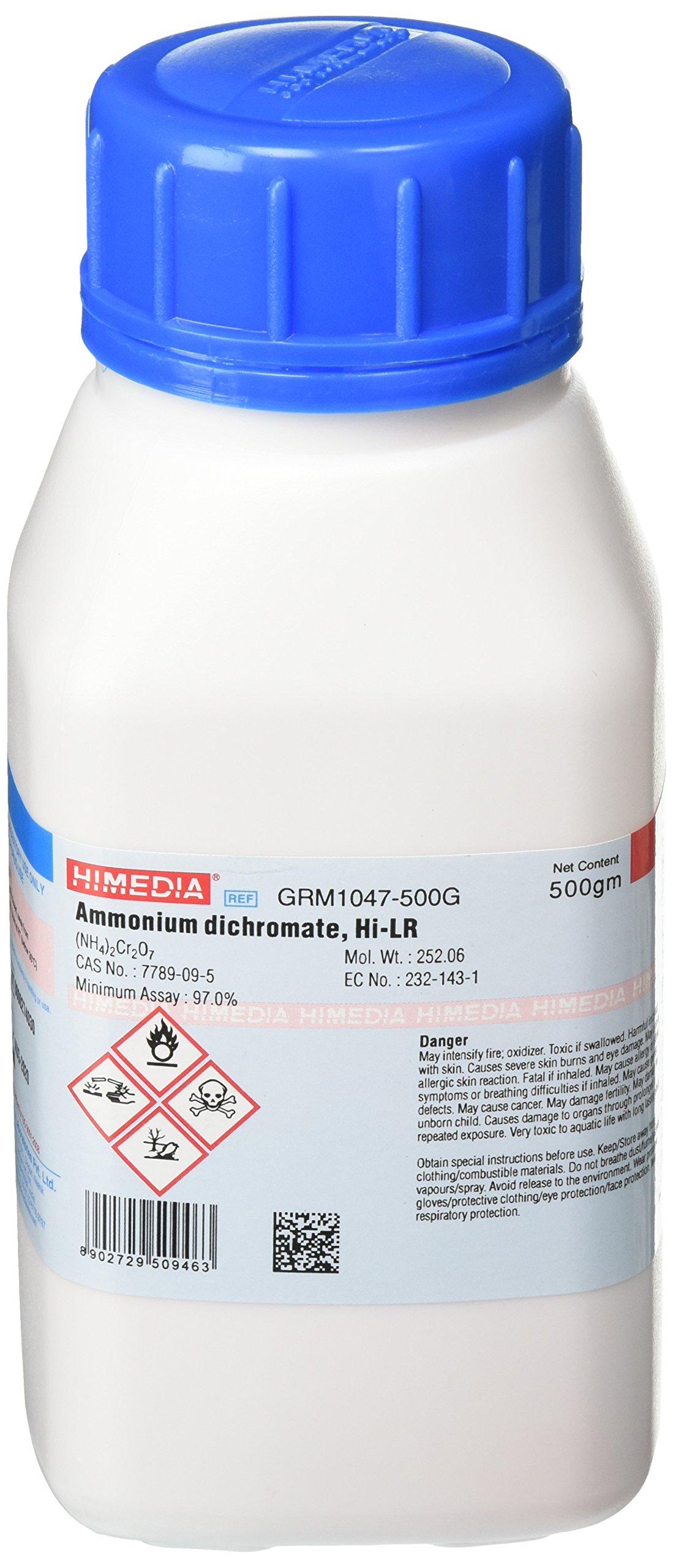 HiMedia GRM1047-500G Ammonium Dichromate, Extra Pure, 500 g