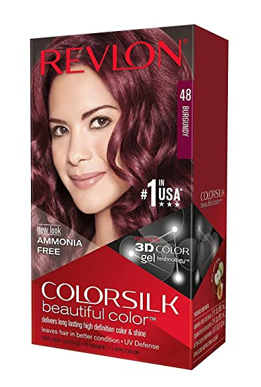 Amazon Revlon Colorsilk Beautiful Color 48 Burgundy 1 Ea