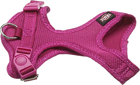Trixie Suave Perro arnés, 25 – 35 cm x 15 mm, Color Fucsia: Amazon ...