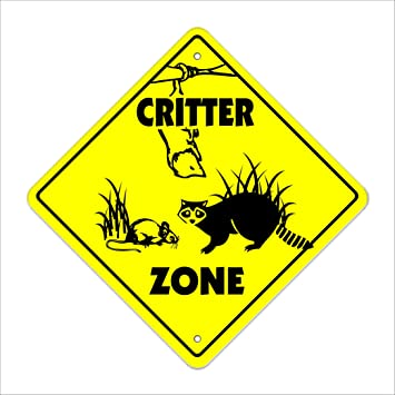 """15.5/"""" x 15.5/"""" plastic funny Cat sign xing Crossings animal Novelty"""