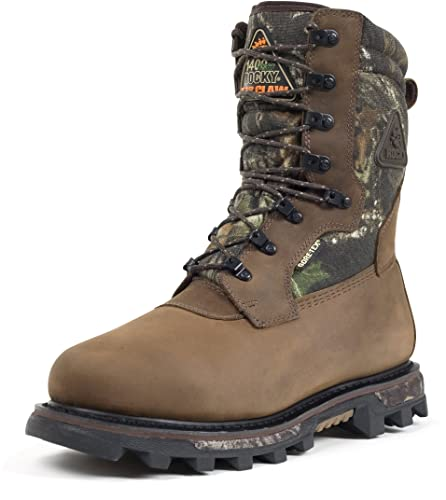 "RockyMen's 10"" Arctic BearClaw 3DGore-Tex WP Insulated Boots-9455"
