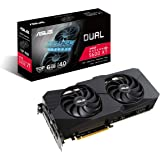 ASUS Dual AMD Radeon RX 5600 XT EVO Top Edition Gaming Graphics Card (PCIe 4.0, 6GB GDDR6 memory, HDMI, DisplayPort, 1081p Ga