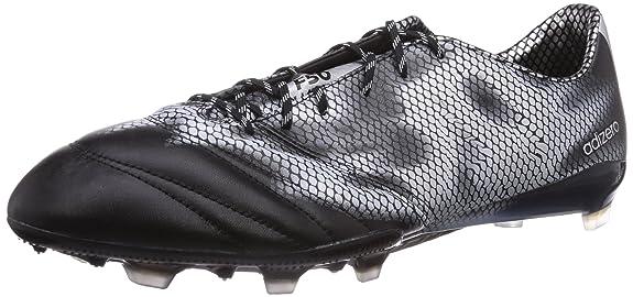 Adidas f50 adizero calcio stivali fg cuoio Uomo scarpette