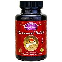 Dragon Herbs Duanwood Reishi - 500 mg - 100 Vegetarian Capsules