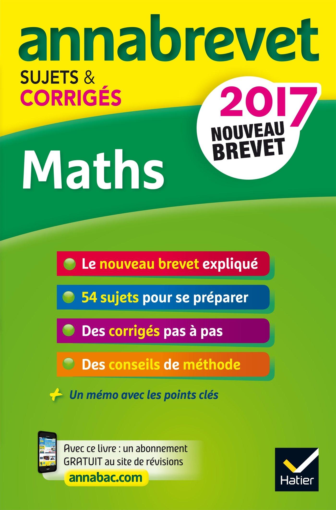 Annales Annabrevet 2017 Maths 3e: sujets et corrigés, nouveau brevet: Amazon.es: Emmanuelle Michaud, Caroline Bureau, Jean-Pierre Bureau: Libros en idiomas ...