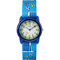 Boys Time Machines Analog Elastic Fabric Strap Watch