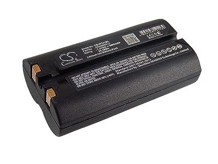 vhbw Li-Ion batería 3400mAh (7.4V) para escáner de código de ...