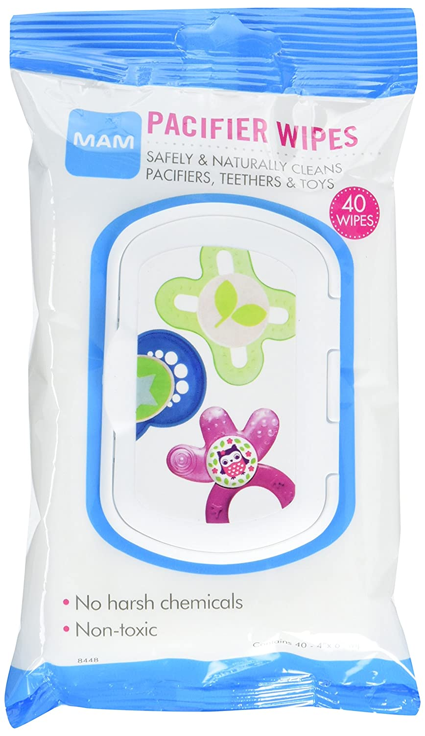 MAM Pacifier Wipes, 40 Count 8448-024-4-1