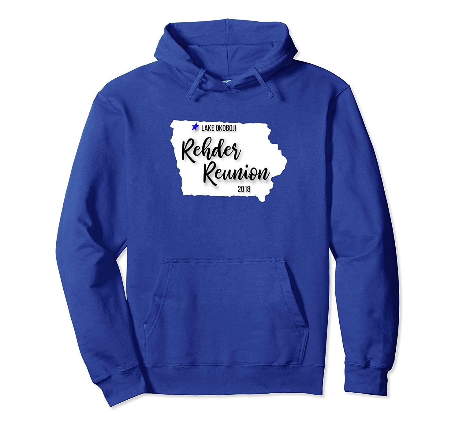 Rehder Family Reunion Pullover Hoodie 2018-alottee gift