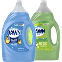 Dawn Dish Soap + Antibacterial Hand Soap, Includes 1 Dish Soap Refill Original Scent, 1 Hand Soap Refill Apple Blossom…