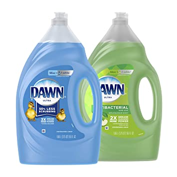 Amazon.com: Dawn Ultra Antibacteriano lavavajillas líquido ...